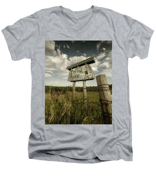Ideal Driving Range Men's V-Neck T-Shirt