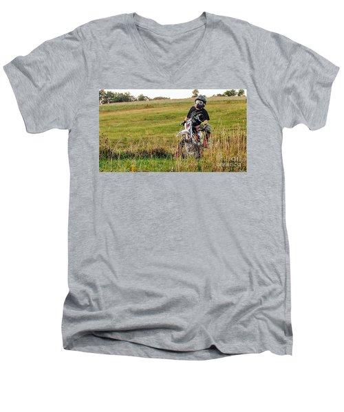 Idle Time Men's V-Neck T-Shirt