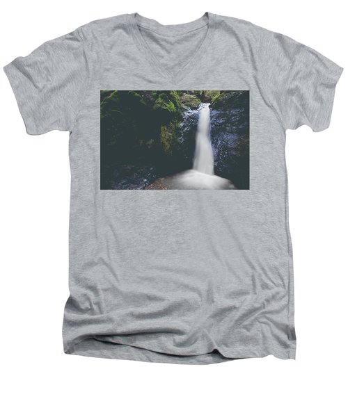 Men's V-Neck T-Shirt featuring the photograph If Ever You Need Me by Laurie Search