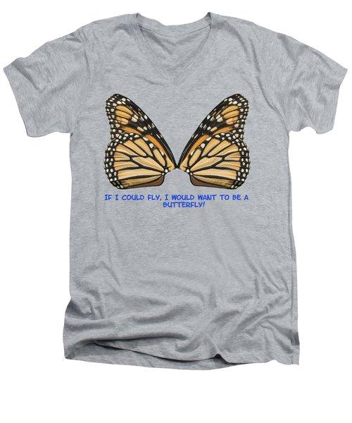 If I Could Fly Men's V-Neck T-Shirt