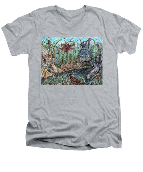 If They Can Share..? Men's V-Neck T-Shirt