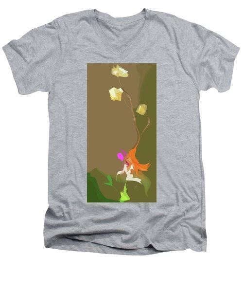 Ikebana Humoresque Men's V-Neck T-Shirt