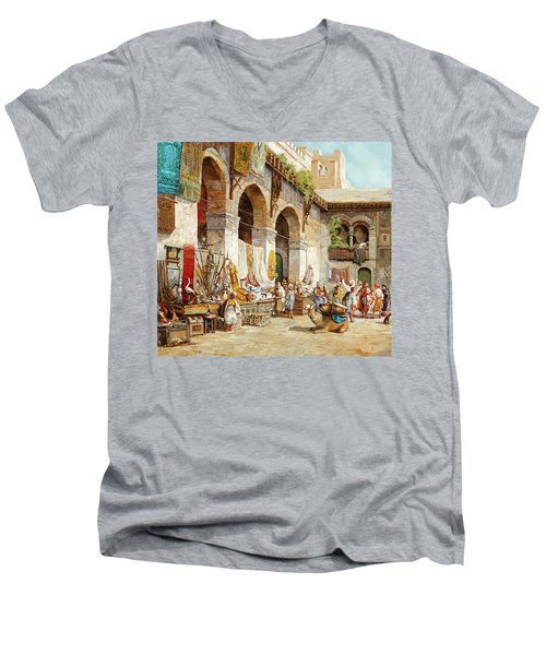 Il Mercato Arabo Men's V-Neck T-Shirt