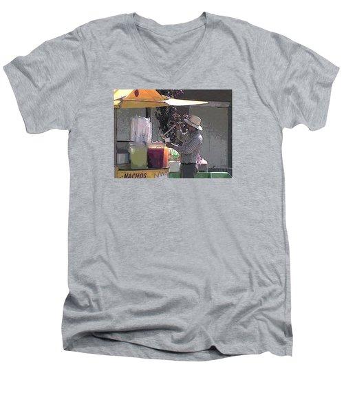 I'll Take A Large Please Men's V-Neck T-Shirt