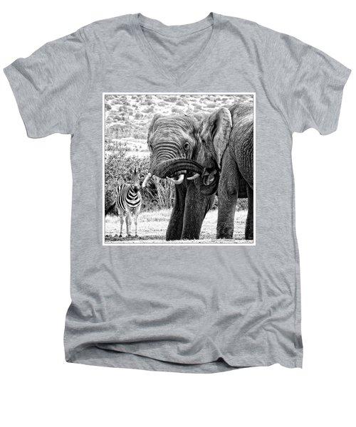 I'm Bored Men's V-Neck T-Shirt