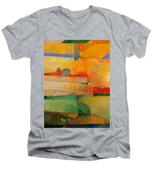 I'm In Corn  Men's V-Neck T-Shirt by Cliff Spohn