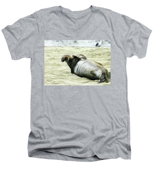Men's V-Neck T-Shirt featuring the photograph Im Too Sexy by Anthony Jones