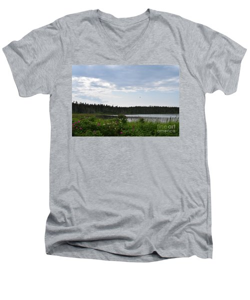 Images From Maine 2 Men's V-Neck T-Shirt