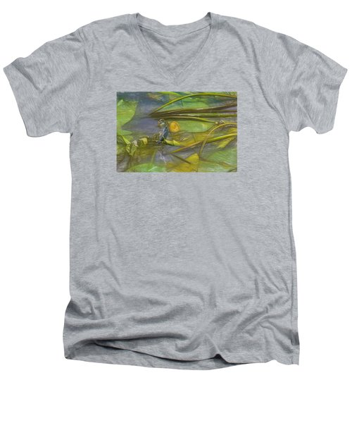 Men's V-Neck T-Shirt featuring the photograph Imaginary by Leif Sohlman