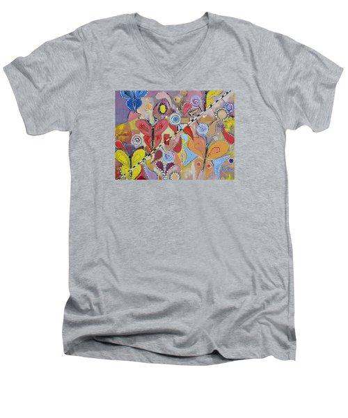 Imagination Land Men's V-Neck T-Shirt