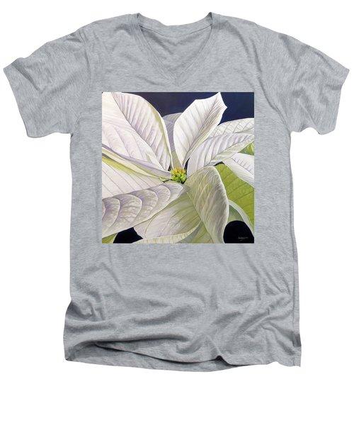 Swirl Men's V-Neck T-Shirt