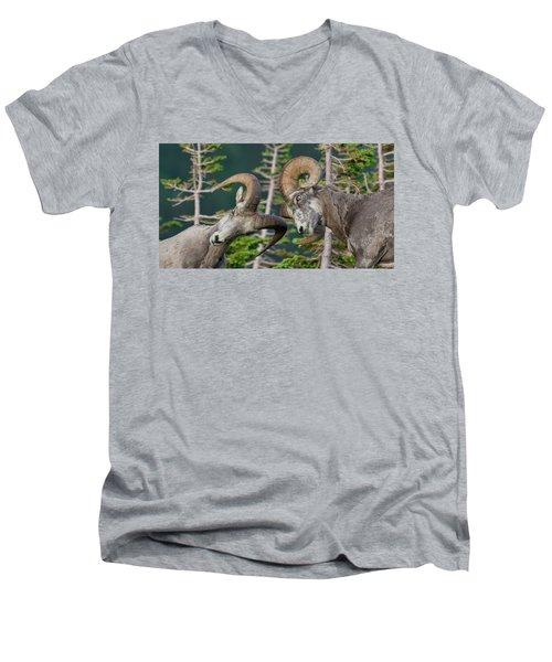 Impact Men's V-Neck T-Shirt by Scott Warner