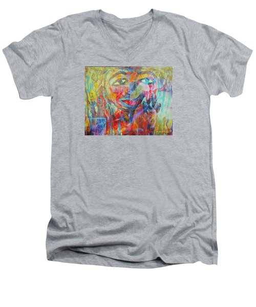 Imperfect Me Too Men's V-Neck T-Shirt