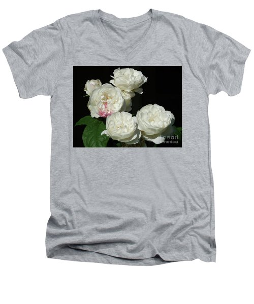 Men's V-Neck T-Shirt featuring the photograph Imperfection by Victor K