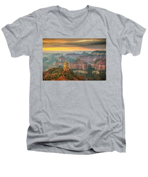 Imperial Point Grand Canyon Men's V-Neck T-Shirt