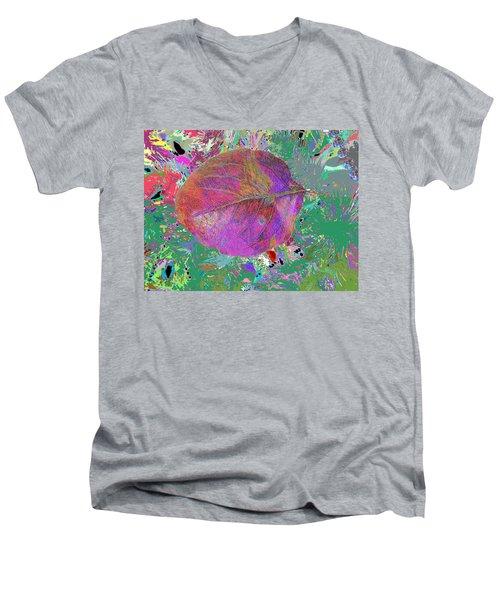 Imposition Of Leaf At The Season 4 Men's V-Neck T-Shirt