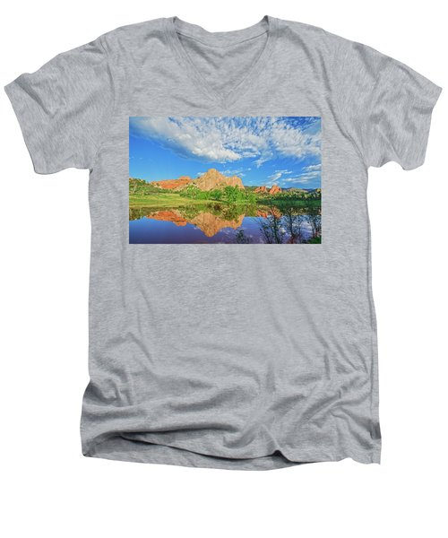 Impossible Not To Fall In Love With Colorado. Here's Why.  Men's V-Neck T-Shirt by Bijan Pirnia