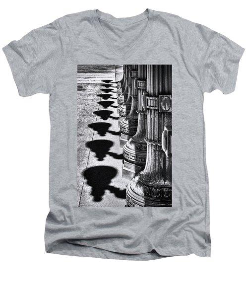 Improvisational Light Men's V-Neck T-Shirt