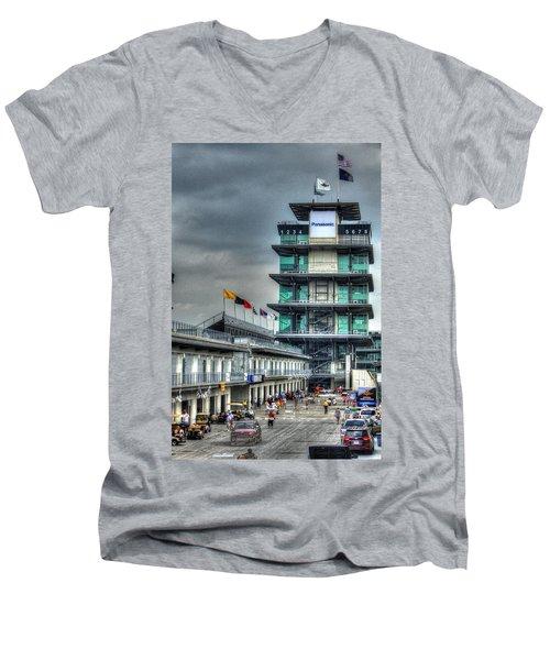Ims Pagoda Men's V-Neck T-Shirt