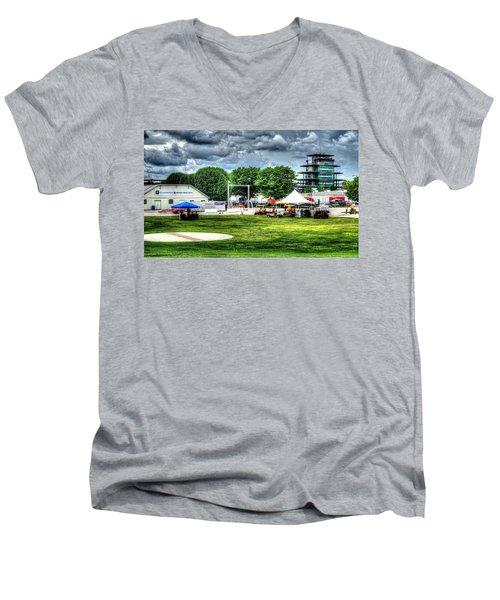 Ims Hospital  Men's V-Neck T-Shirt
