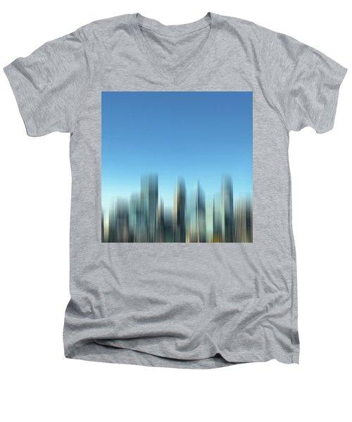 In A Blur Men's V-Neck T-Shirt