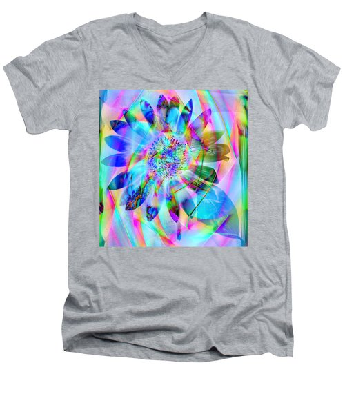 In A Different Light Men's V-Neck T-Shirt by Kevin Caudill