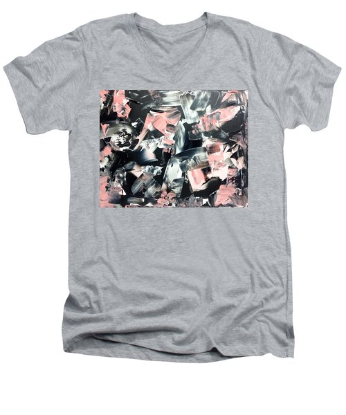 In Abstraction- Pbw No.2 Men's V-Neck T-Shirt