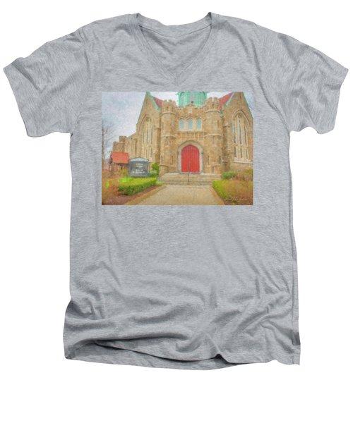 In Brockton For Good Men's V-Neck T-Shirt