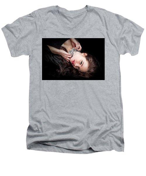 In Chains Men's V-Neck T-Shirt
