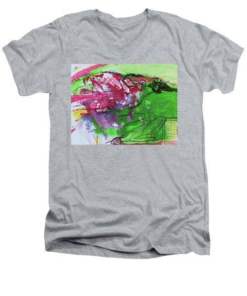 In Her Hands Men's V-Neck T-Shirt