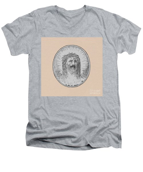 In Him We Trust Men's V-Neck T-Shirt