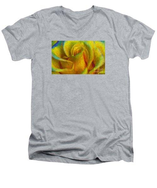 In Memory Of Vincent Men's V-Neck T-Shirt by John  Kolenberg