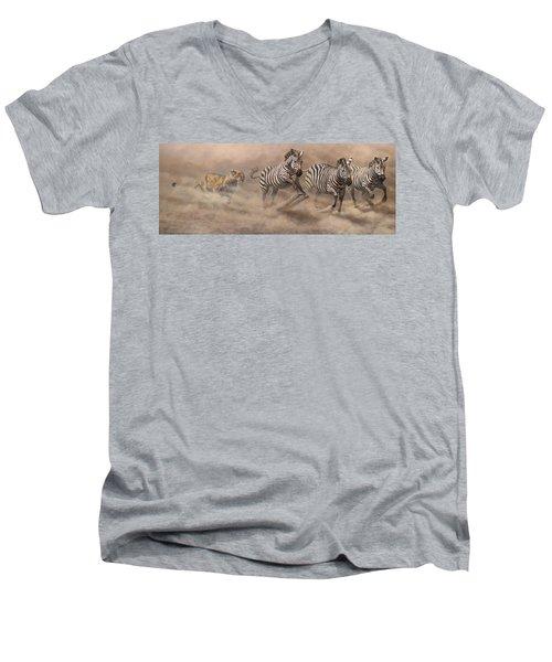In Pursuit Men's V-Neck T-Shirt