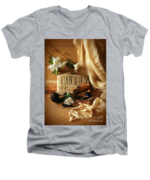 In Search Of Lost Time II Men's V-Neck T-Shirt