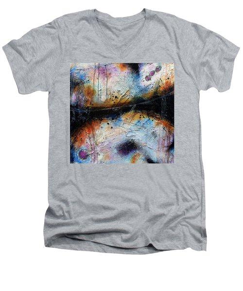 In Spite Of Myself Men's V-Neck T-Shirt by Tracy Bonin