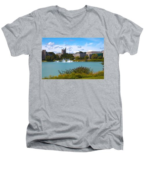 In The Afternoon Men's V-Neck T-Shirt