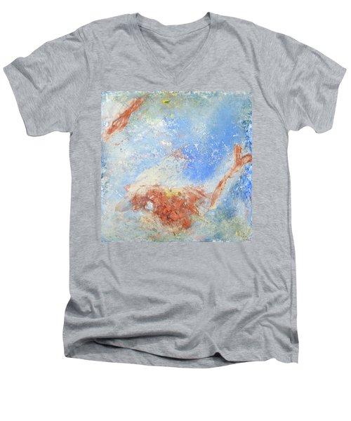 In The Beginning Men's V-Neck T-Shirt