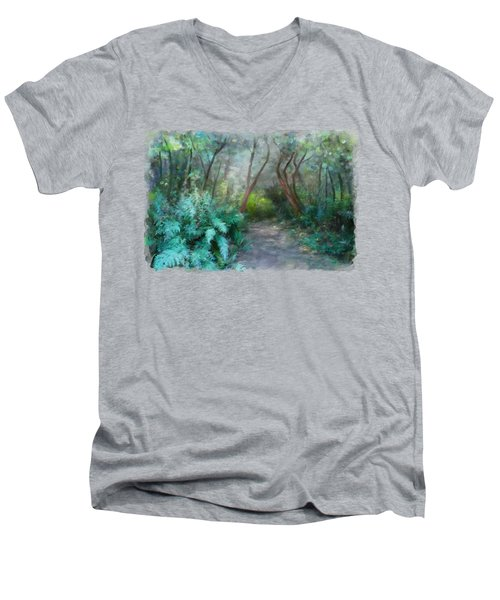 In The Bush Men's V-Neck T-Shirt