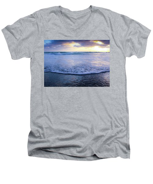 In The Evening Men's V-Neck T-Shirt