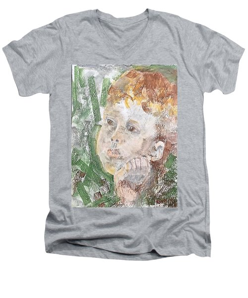 In The Eyes Of A Child Men's V-Neck T-Shirt