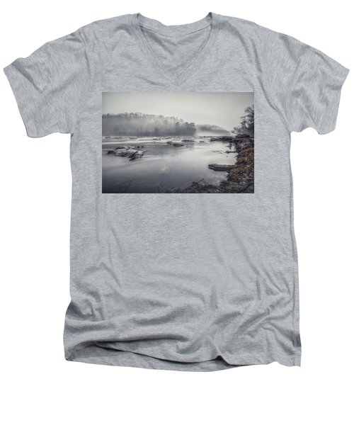 In The Fog  Men's V-Neck T-Shirt