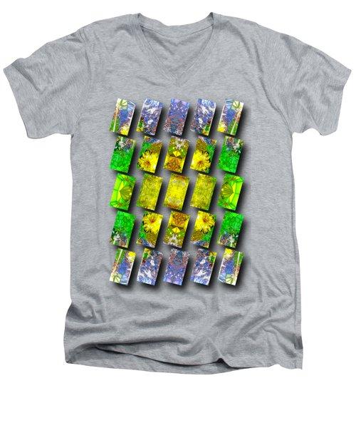 In The Fractured Gardens Men's V-Neck T-Shirt