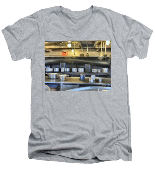 In The Galley Men's V-Neck T-Shirt