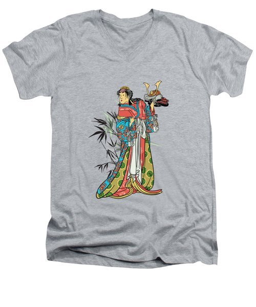 In The Garden. Men's V-Neck T-Shirt