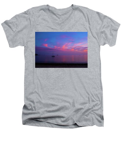 In The Gloaming Men's V-Neck T-Shirt