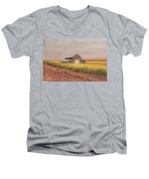 In The Horizon Men's V-Neck T-Shirt