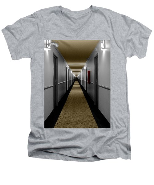 In The Long Hall Men's V-Neck T-Shirt