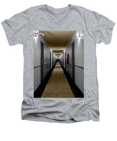 In The Long Hall Men's V-Neck T-Shirt