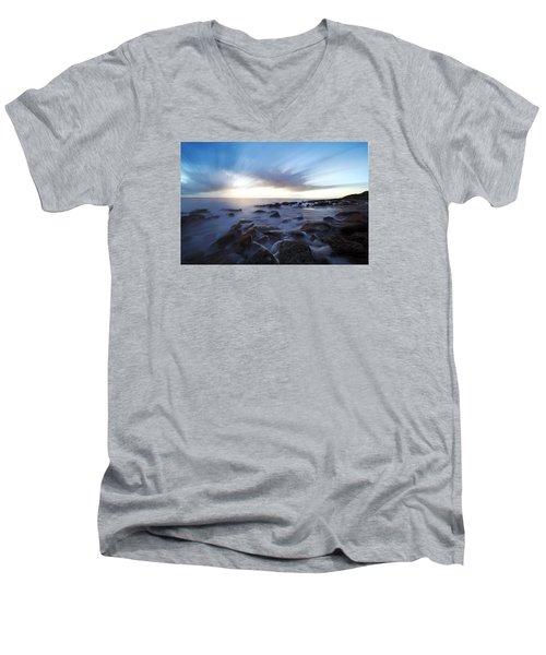 In The Morning Light Men's V-Neck T-Shirt by Robert Och