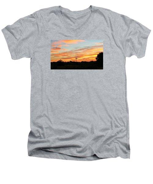 In The Morning Still Men's V-Neck T-Shirt